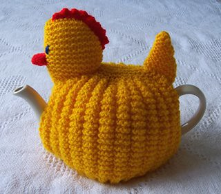 Traditional Tea Cosy Knitting Pattern : Tea Cozy for Easter Hickety, pickety, my little chicken, S? Flickr