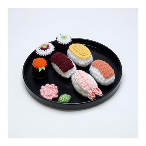 Amigurumi Food Sushi : Amigurumi Sushi by Christen Haden (Usa) Foto: Ramiro ...
