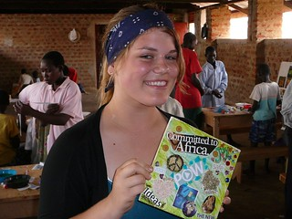 WE Center Gulu :: Aug 2006 :: making PeaceTiles for La Crescenta Presbyterian Church | by Life in Africa