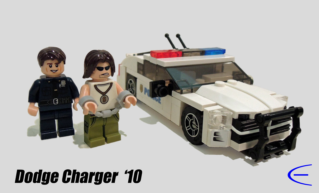 Lego Police Dodge Charger A Minifig Scale Copy Of The