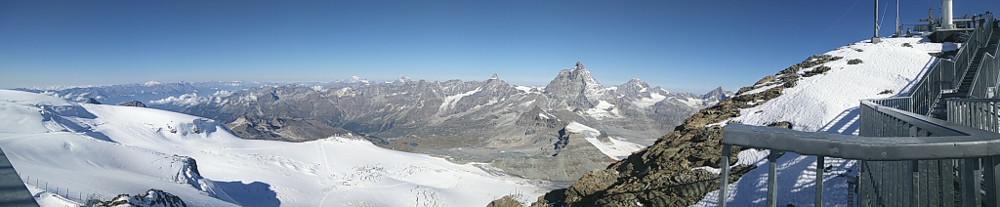 Panorámica desde Matterhorn