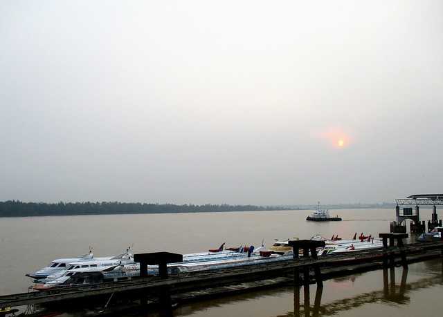The Rajang River, Sibu