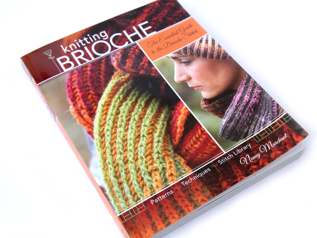 Knitting Nancy Spotlight : Knitting brioche the essential guide by nancy marchant