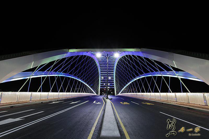 [三峽新地標夜拍景點] 三角湧大橋