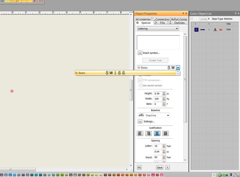 Upgraded Wilcom ES e3 now font problem - T-Shirt Forums