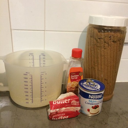 caramel in the microwave ingredients