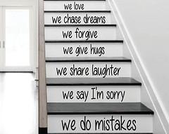 Sticker escalera 2