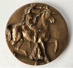 L'Unicorne Dyonisiaque Medal obverse
