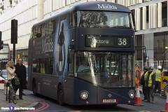 Wrightbus NRM NBFL - LTZ 1220 - LT220 - Matilda - Victoria 38 - Arriva - London 2016 - Steven Gray - IMG_5339