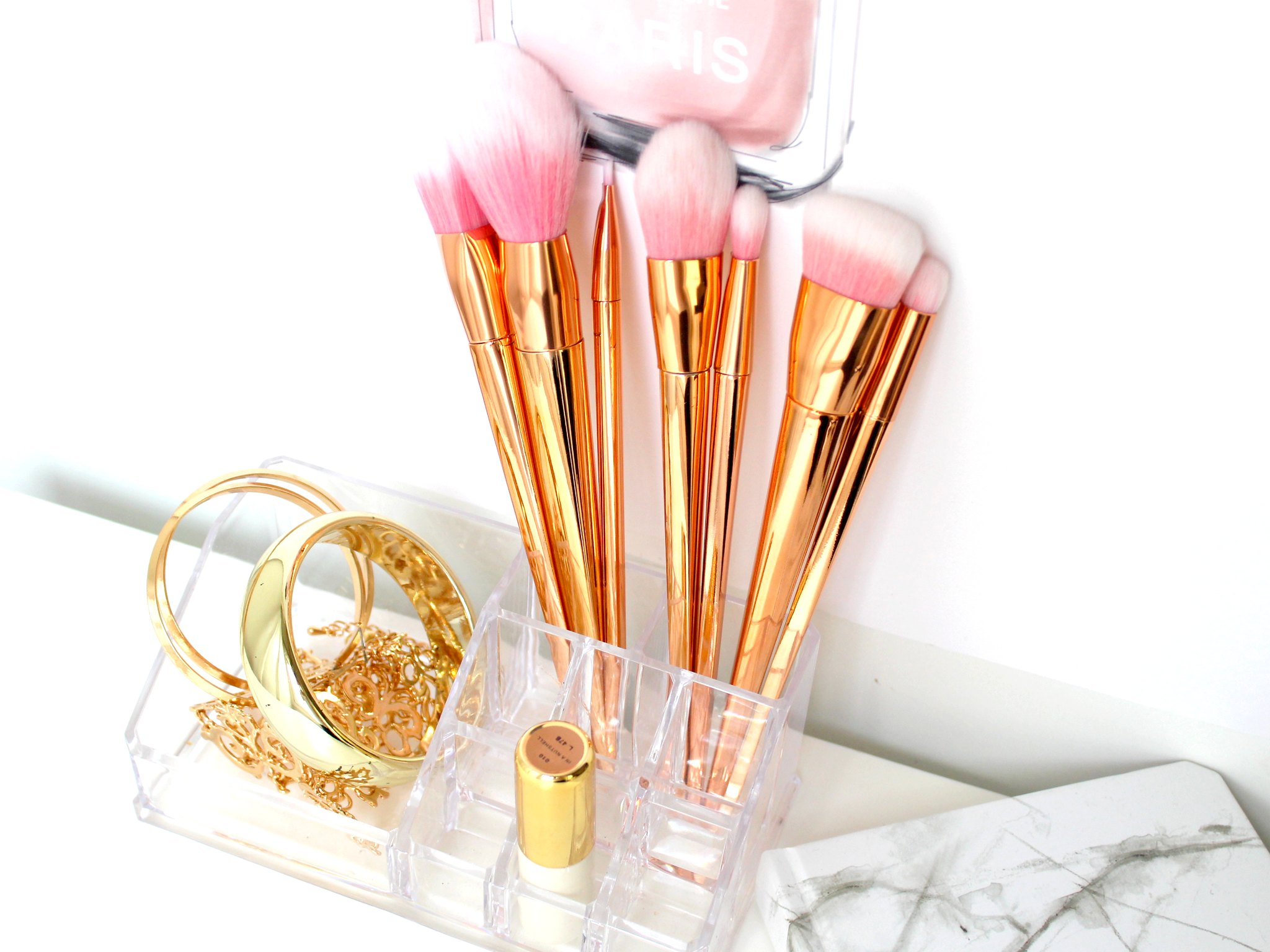 Rosegold brushes 1