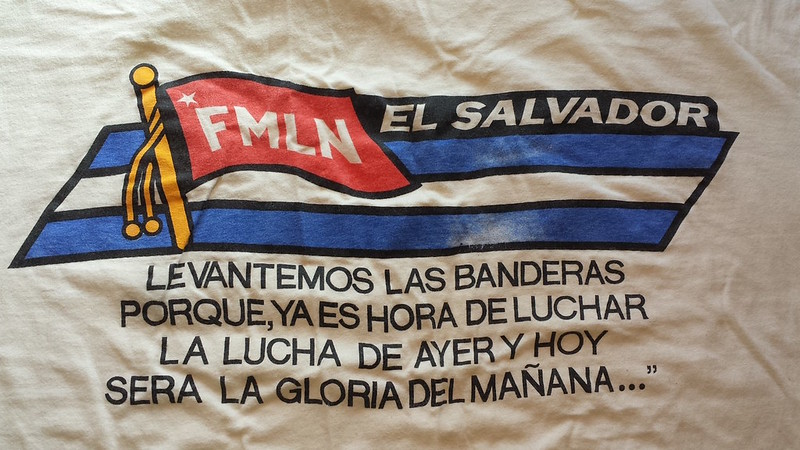 FMLN t-shirt from El Salvador, 1994