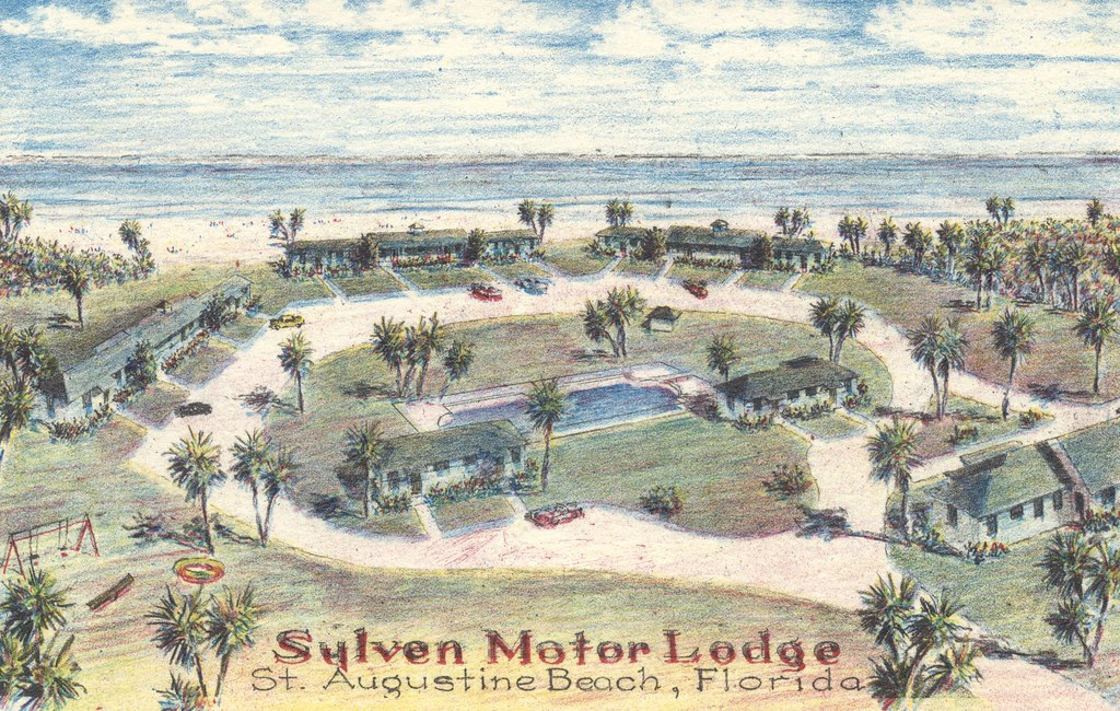 Sylven Motor Lodge - St. Augustine Beach, Florida