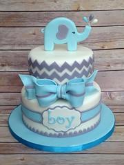 Elephant Baby Shower Cake | By Robin33smith ...