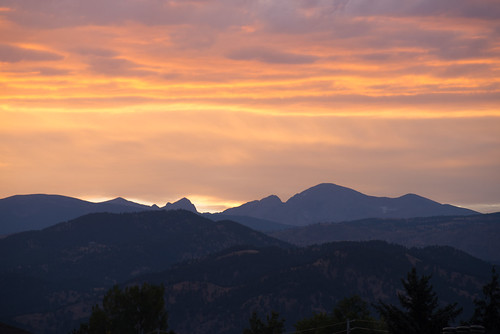 Rocky Mtns from Boulder | by julesberry2001