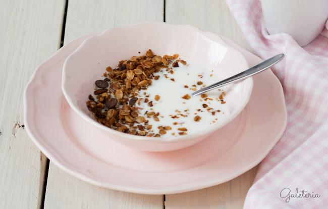 receta granola casera