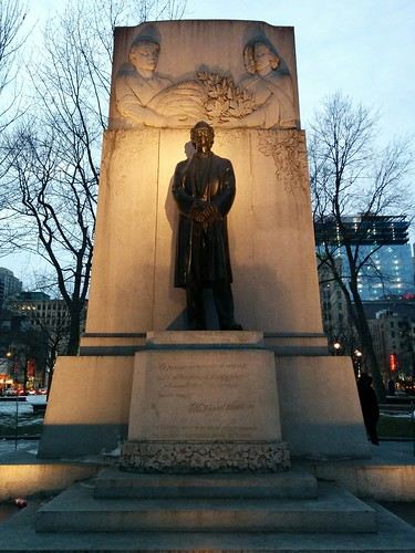 Sir Wilfrid Laurier Monument, Dorchester Square