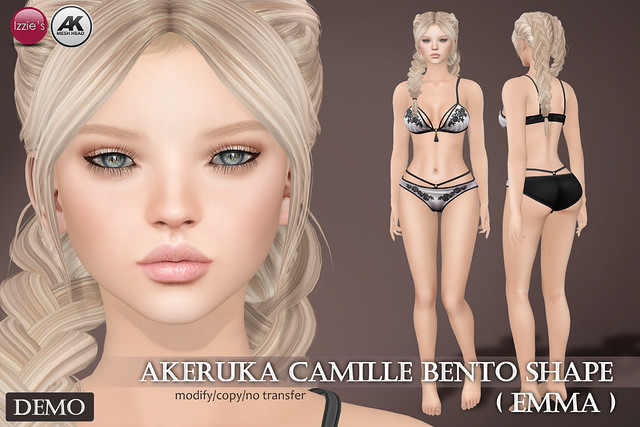 Emma Shape (for Akeruka Camille Bento)