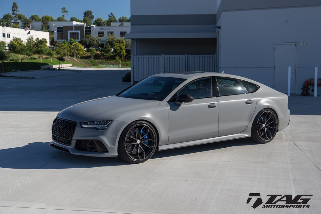 Hre Wheels Audi Rs7 With Hre P201 Wheels In Two Tone