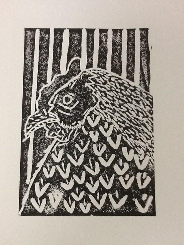 Art 2 Lino Print