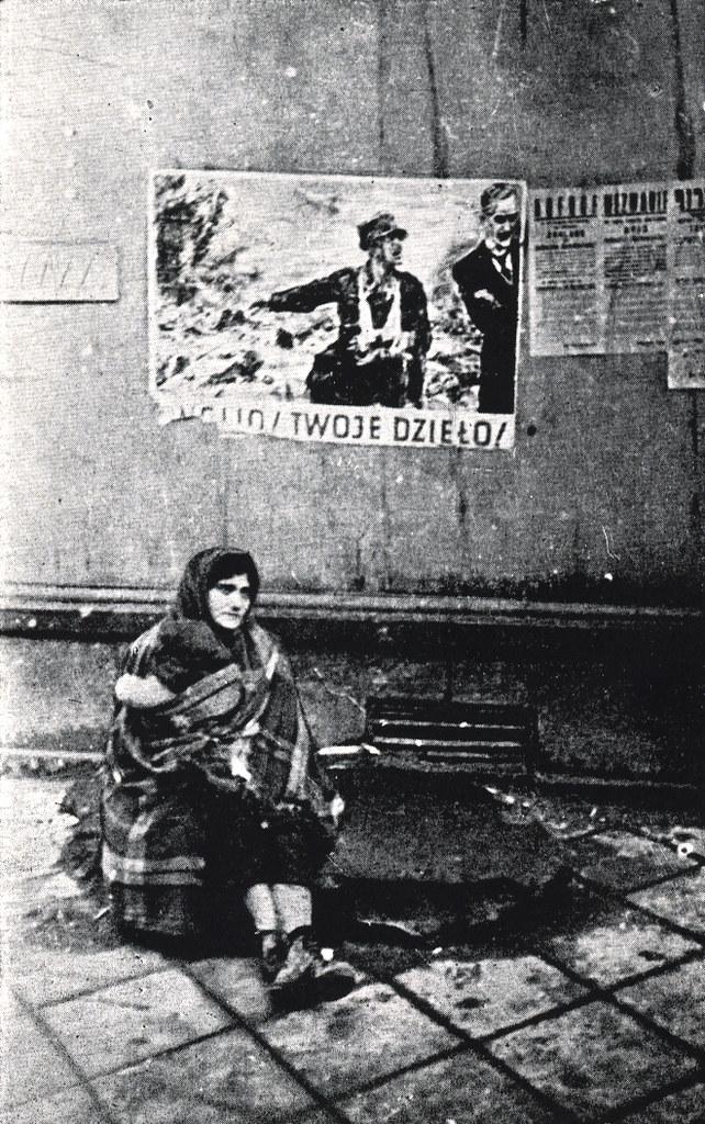 Affiche de propagande nazie :
