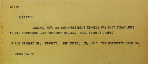 President Kennedy's Assassination