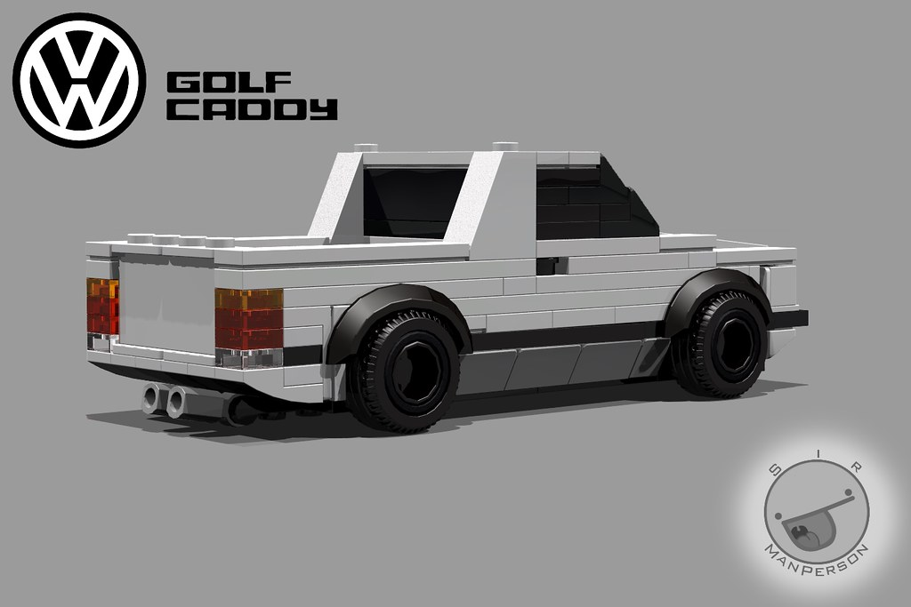 Lego Vw Caddy Mki Rear Really Happy With The Rear Of