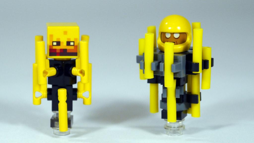 Mincraft Lego Build
