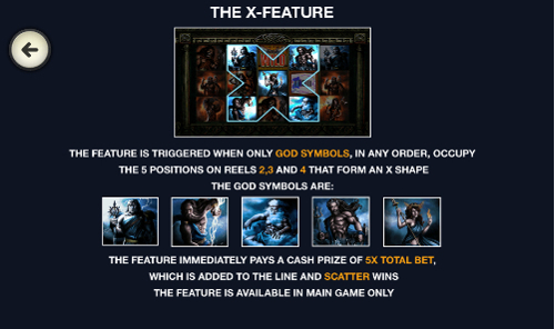 free Battle of the Gods Mobile X feature