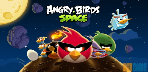 Angry Birds Space home