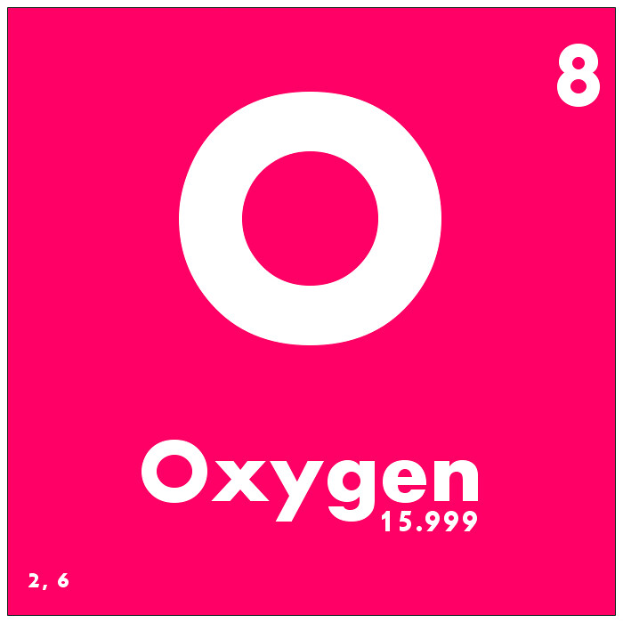 008 oxygen periodic table of elements watch study guide flickr 008 oxygen periodic table of elements by science activism urtaz Images