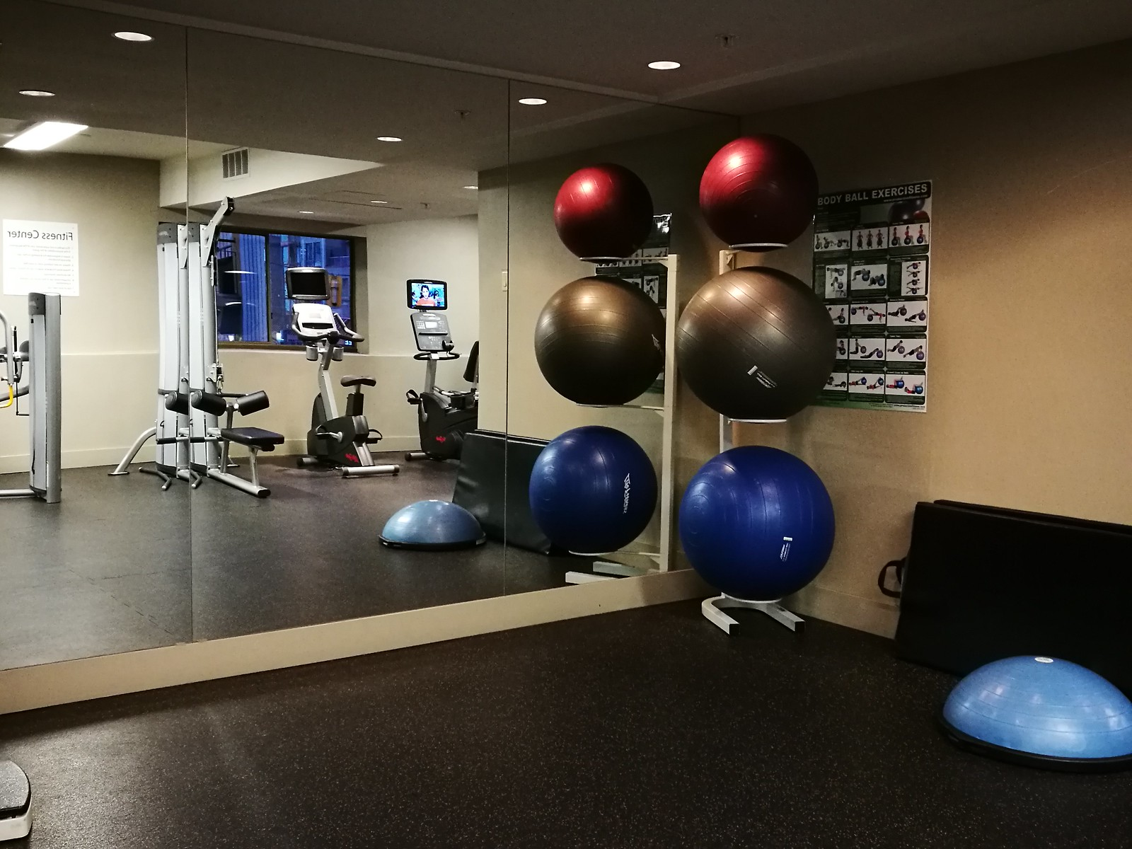 Fitness centre studio