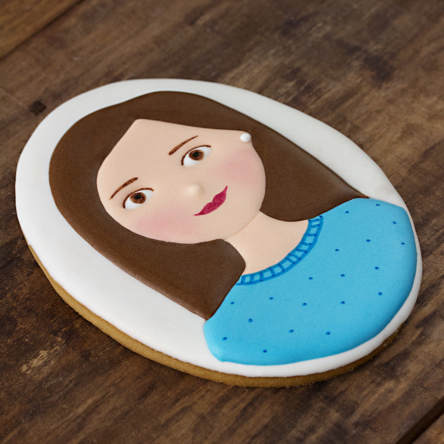 Galleta retrato