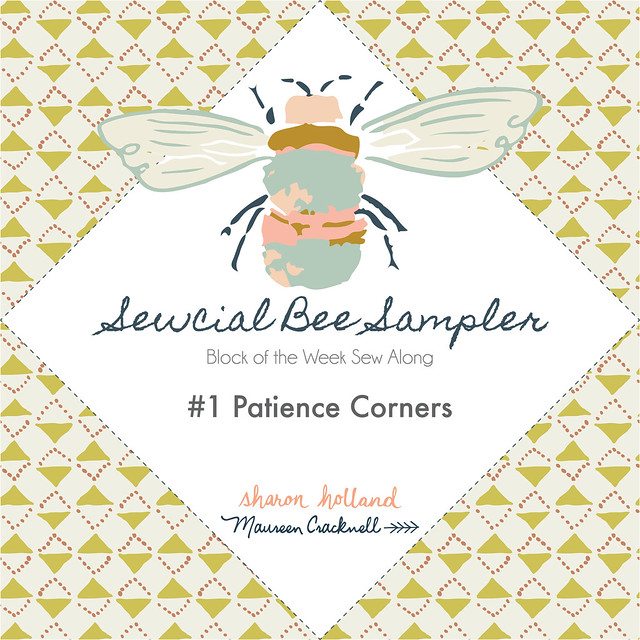 Sewcial Be Sampler: Block 1. Patience Corners