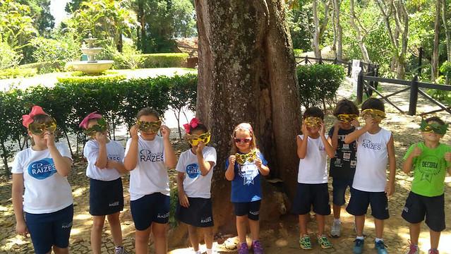 Máscaras de carnaval - educação ambiental