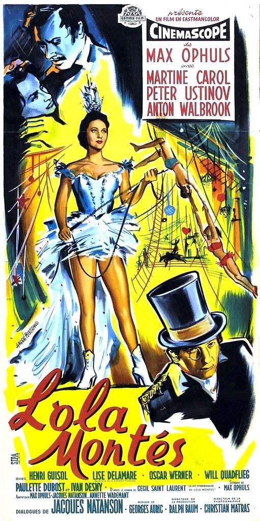 Lola Montès - Poster 1