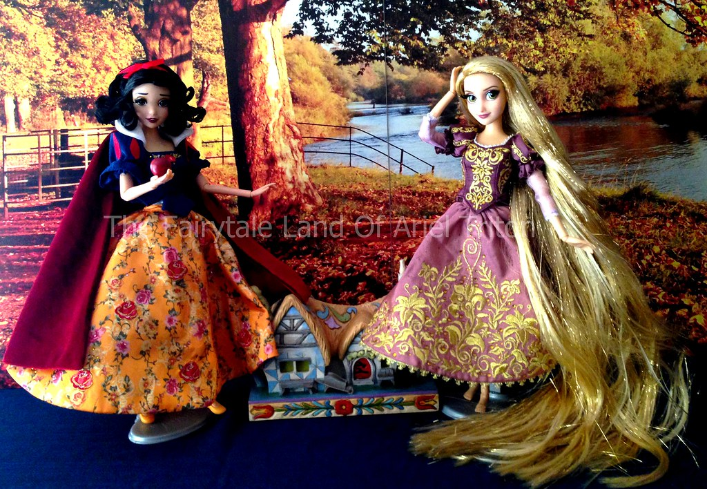 Raiponce And Snow White Fairytale Designer Collection Di