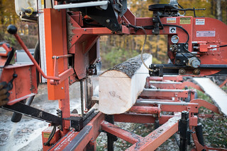 Wood Mizer Cutting Maple Tree | by goingslowly