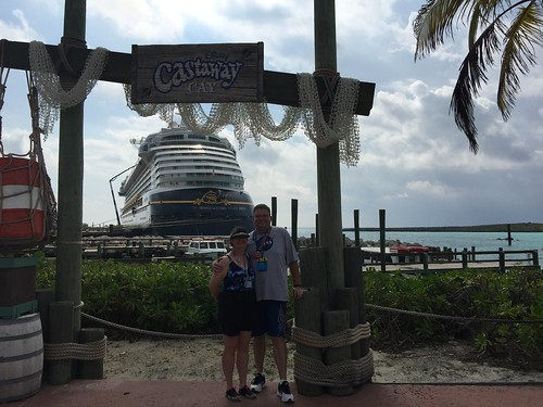 Tracey and Scott on Castaway Cay | by Disney, Indiana
