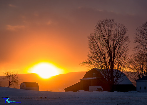 January Sunset on the Farm | by Tim_NEK