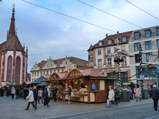 Mercadillo navideño de Würzburg (Norte de Baviera, Franconia)