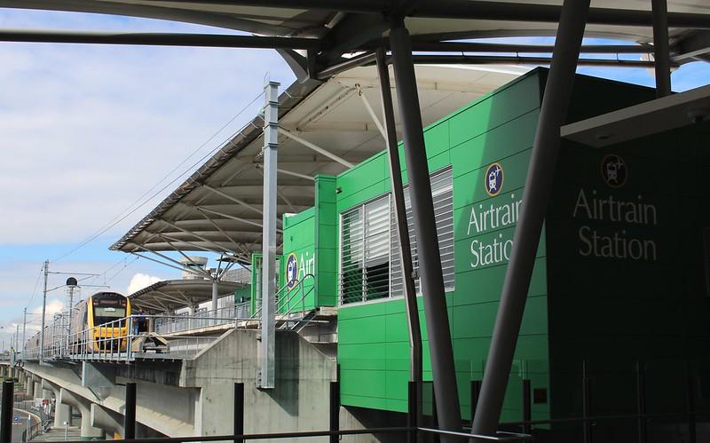 Brisbane Airport Domestic terminal station