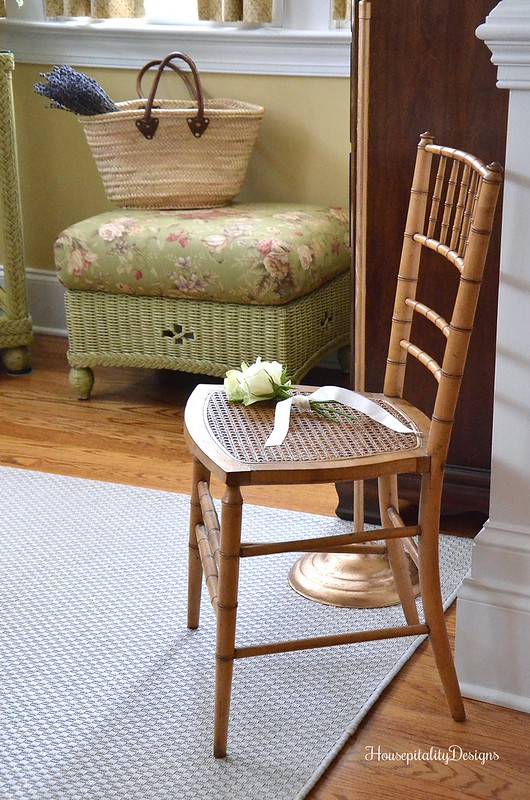 Antique Cane and Bamboo Chair-Sunroom-Housepitality Designs