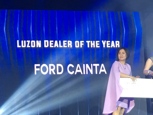 Luzon Dealer of the Year,  Ford Cainta