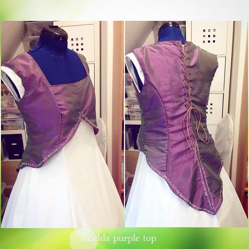 Zelda purple top