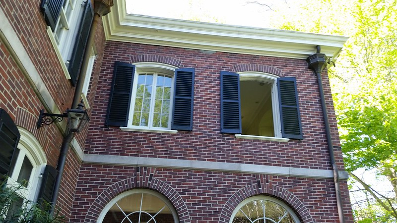 20170408_110729 2017-04-08 Neel Reid 2922 West Andrews classic Georgian shutteers internal gutters collector box