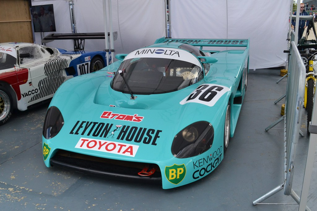 Tom's Leyton House Toyota 86C - 1986
