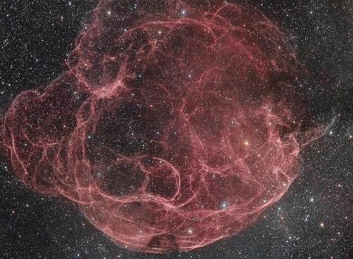 VCSE - Mai kép - Simeis 147 jelű szupernóva-maradvány