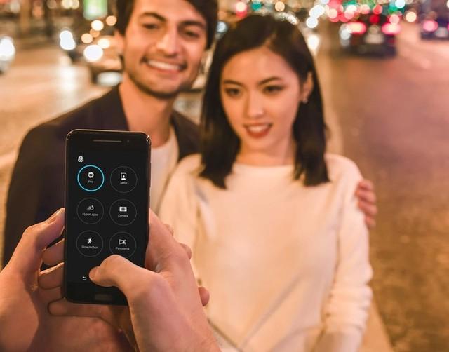 Camera HTC One A9 tích hợp ổn định hình quang học
