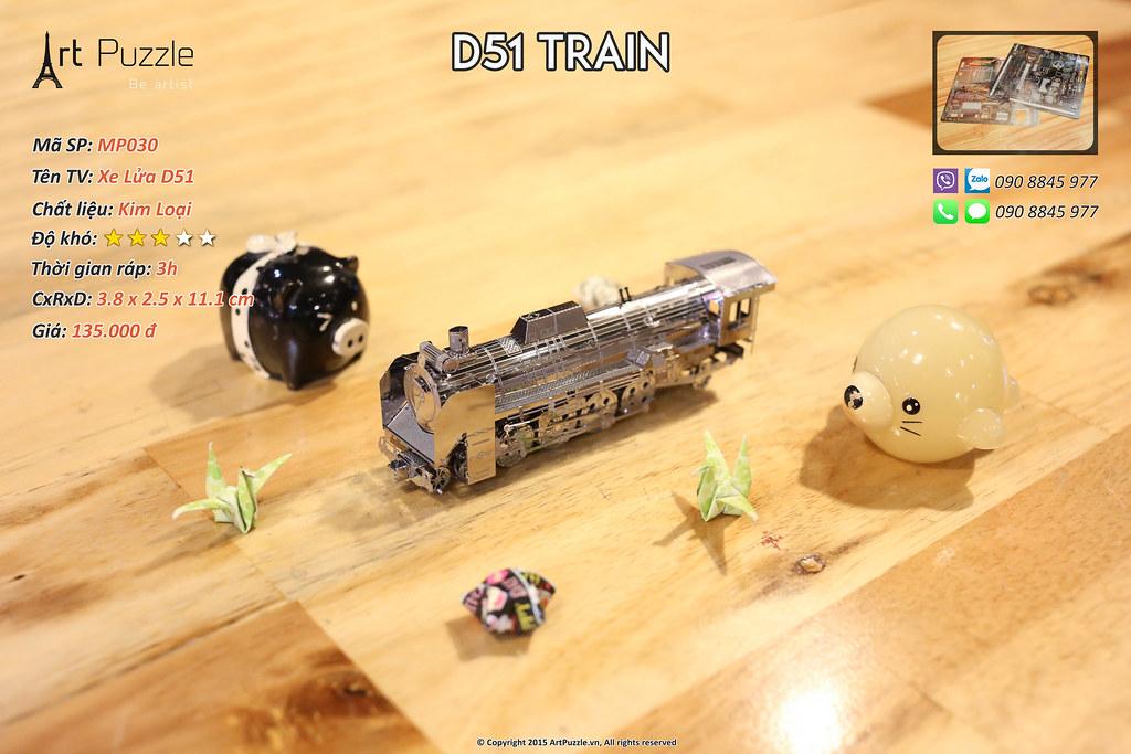 Art Puzzle - Chuyên mô hình kim loại (kiến trúc, tàu, xe tăng...) tinh tế và sắc sảo - 37