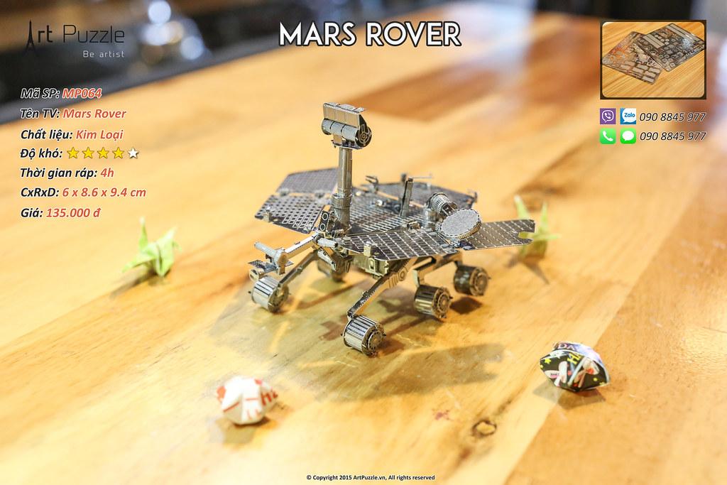 Art Puzzle - Chuyên mô hình kim loại (kiến trúc, tàu, xe tăng...) tinh tế và sắc sảo - 14